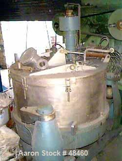 Used- Escher Wyss Ploughing Centrifuge Type V-130