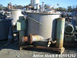 "Used- Ametek/Tolhurst 48"" x 30"" Perforated Basket Centrifuge"