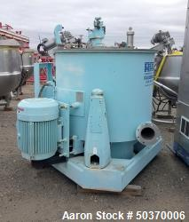 "Used-Sharples Basket Centrifuge, Stainless steel, 48"" diameter x 30"" straight side, Perforate Basket, Top load, Bottom Dump...."