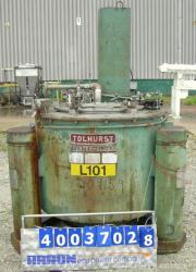 "Used- Tolhurst 40"" x 24"" Centerslung Batch-O-Matic Top Load, Bottom Discharge Ce"