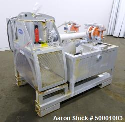 Used- US Centrifuge Solid Wall Basket Centrifuge, Model M412