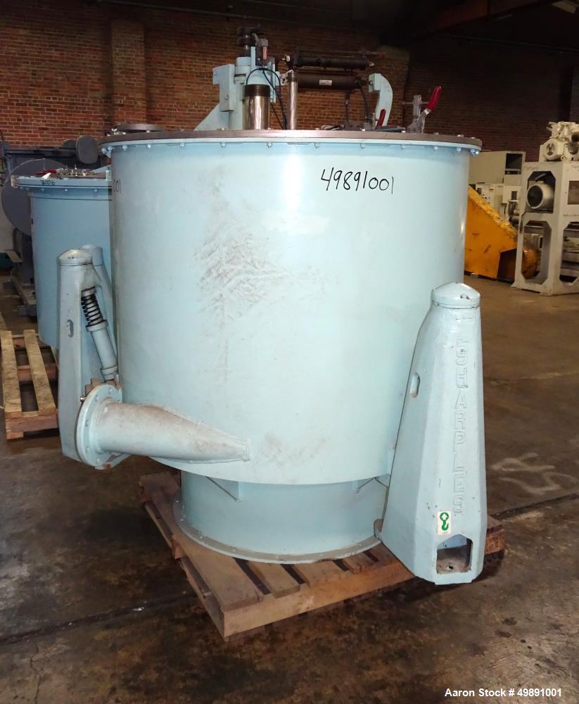 """Used-Sharples 48"""" x 30"""" Perforated Basket Centrifuge"""