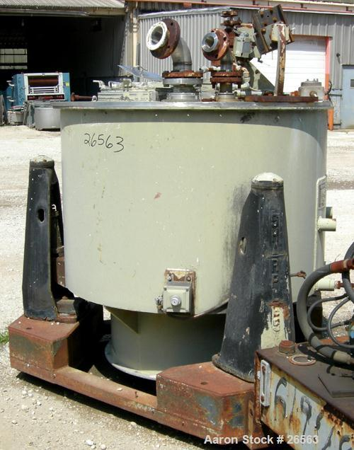 Used- Sharples Tornado Perforate Basket Centrifuge