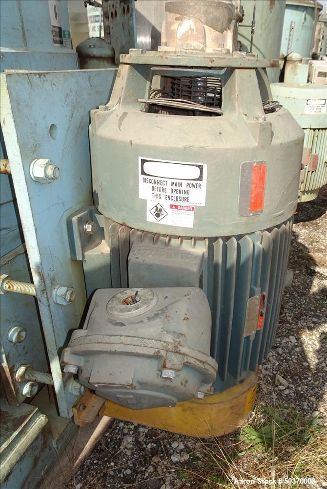 "Used- Sharples 48"" x 30"" Perforated Basket Basket Centrifuge"