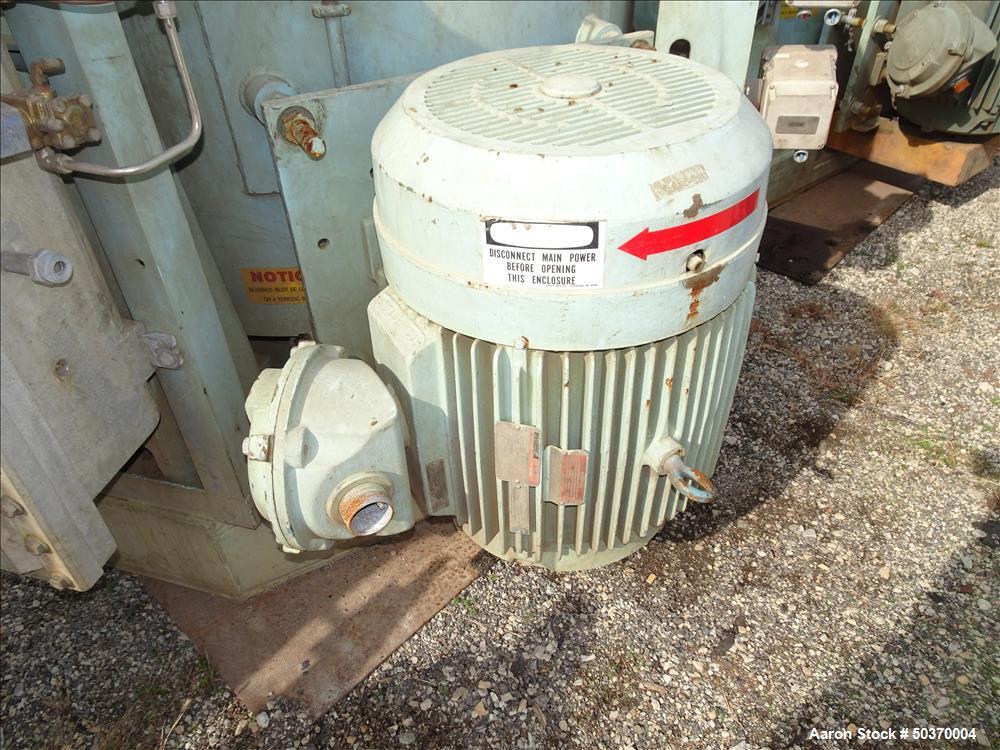 """Used- Sharples 48"""" x 30"""" Perforated Basket Centrifuge"""