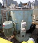 "Used- Sharples 48"" x 30"" Perforated Basket Centrifuge"