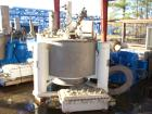 Used- Tolhurst Semi-Batch-O-Matic Perforated Basket Centrifuge