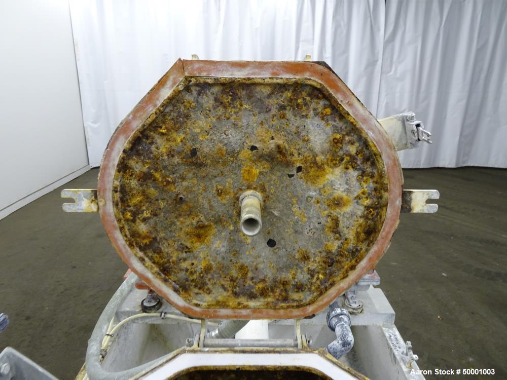 Used- US Centrifuge M412 Solid Wall Basket Centrifuge