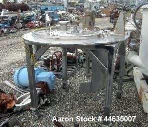 """Used- Western States 48"""" X 30"""" Perforated Basket Centrifuge"""