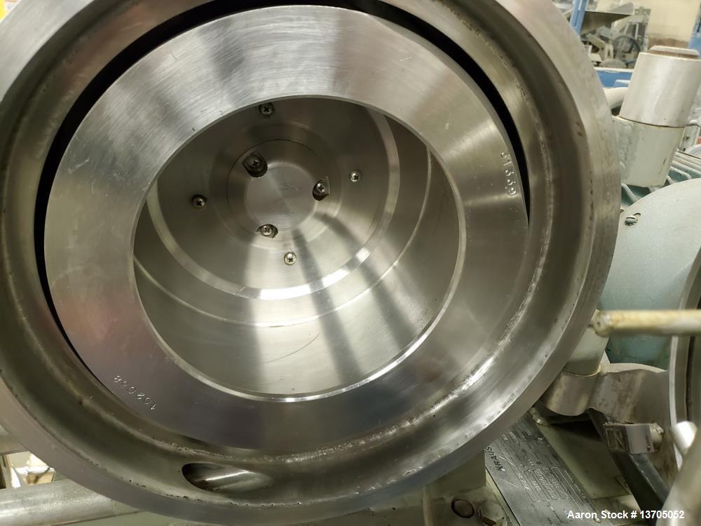 Used- Krauss Maffei Horizontal Peeler Centrifuge, Model HZ-25