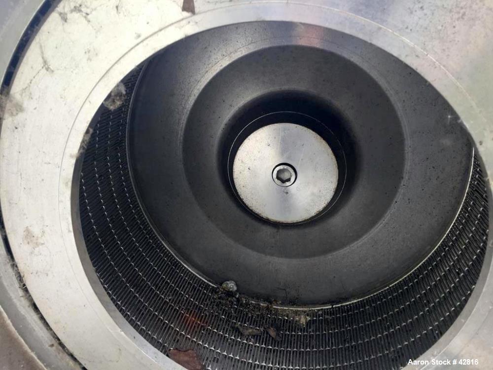 Used- Krauss Maffei  Peeler Centrifuge, Model HZ40