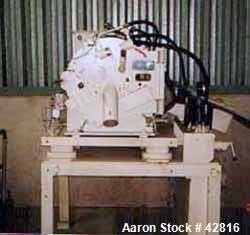 Used- Stainless Steel Krauss Maffei Peeler Centrifuge