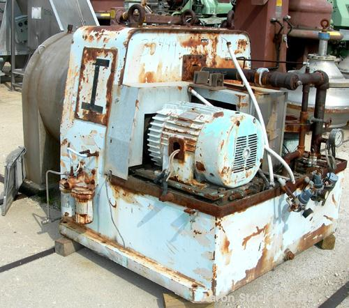 USED: Alfa Laval SB-600 pusher centrifuge, 316 stainless steel product contact areas. 1600 rpm, single stage. 30 hp, 3/60/23...