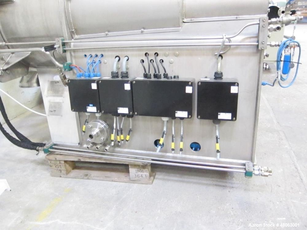 Used-Fima Process GmbH Basket Centrifuge / Dryer mounted on frame, Model TZT-400x300. Material on product contact parts Hast...