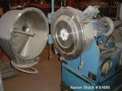 Used- Stainless Steel Heinkel Inverting Filter Centrifuge, Model HF-300