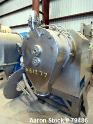 Used- Heinkel HF300 Inverting Filter Centrifuge, 316 Stainless Steel