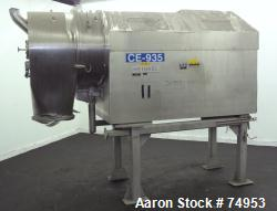 Used- Heinkel HF-600 Inverting Filter Centrifuge, 316 Stainless Steel. Pharmaceutical grade finish. Maximum bowl speed 1936 ...