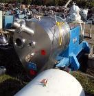 Used- Heinkel HF-600 Inverting Filter Centrifuge. Hastelloy C-4