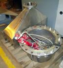 Used: Heinkel model HF800.1 inverting filter centrifuge. Wetted parts Hastelloy C22. 800 mm bowl, max bowl speed 1600 rpm. A...