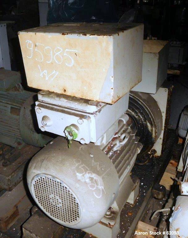 Used- Alfa Laval Vertical Basket Centrifuge, Type PAZ12506