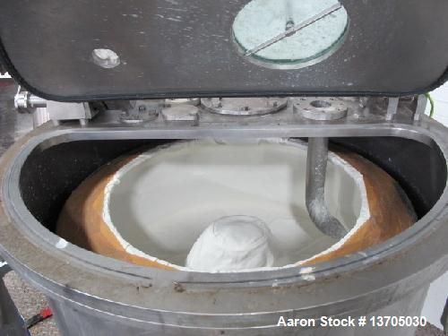 "Used- Broadbent 34"" x 14"", Series E, Perforated Basket Centrifuge"