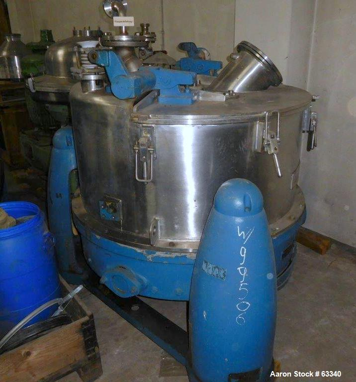 Used- Heine/Ellerwerk Perforated Basket Centrifuge
