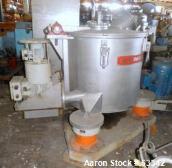 Used- Ellerwerk Perforated Basket Centrifuge, Type 733C