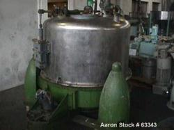 Used- Heine Perforated Basket Centrifuge