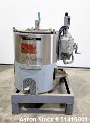 "Used- Fletcher / Sharples 14"" x 6"" Fletcher Perforated Basket Centrifuge, Size 1"