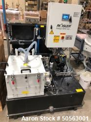 Used- Rosler Z800 Solid Wall Basket Centrifuge