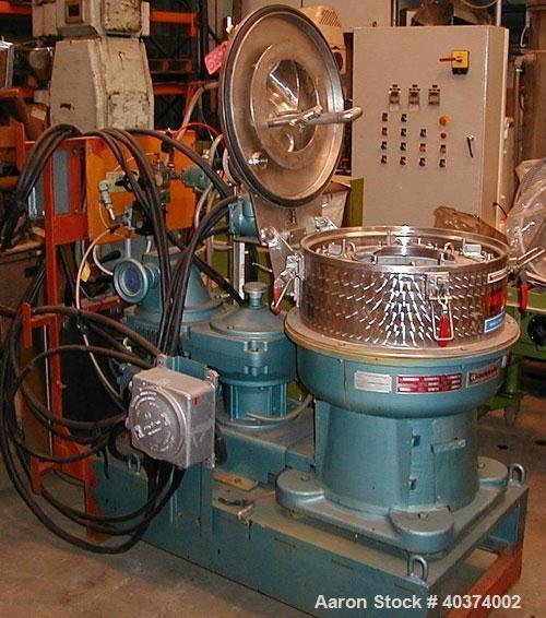 Used- Rousselet Basket Centrifuge, Type RC50PXME
