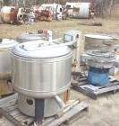 Unused-Bock 805TX perforated basket centrifuge, stainless steel construction on product contact areas. Top load, top unload,...