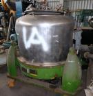 Used- Heine Perforated Basket Centrifuge