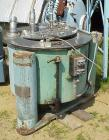 Used- Stainless Steel Tolhurst Basket/Batch Type Centrifuge