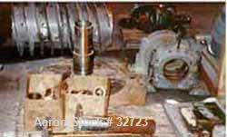Used- Bird Decanter centrifuge Parts Consisting of: (1) Stainless Steel Conveyor, (1) Stainless Steel Effluent Head (1) Pillow Block, (1) Pillow Block, (1) Small Pillow Block, (29) Large and Small Bronze Bushings (1) Lot Gearbox Parts