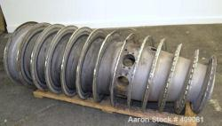 Used- Stainless Steel Sharples P-5000 Conveyor