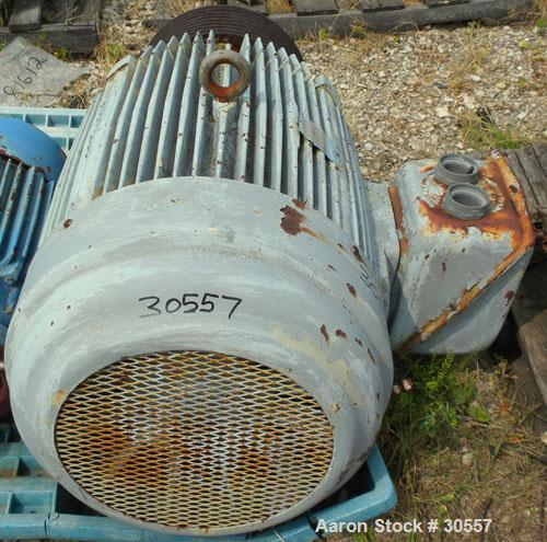 "Used- Pacemaker Centrifuge Motor, Model 5111079002, Type CJ4B. 125 hp, 3/60/460 volt, 1785 rpm, frame 445T. 16"" diameter x 8..."