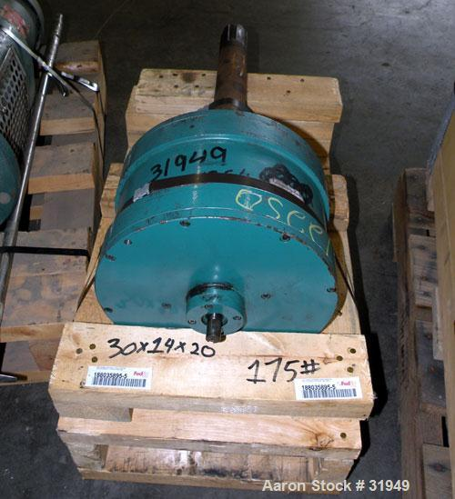 Used- Sharples Super-D-Canter Centrifuge Gearbox, 165 to 1 ratio and 6 tooth spline.