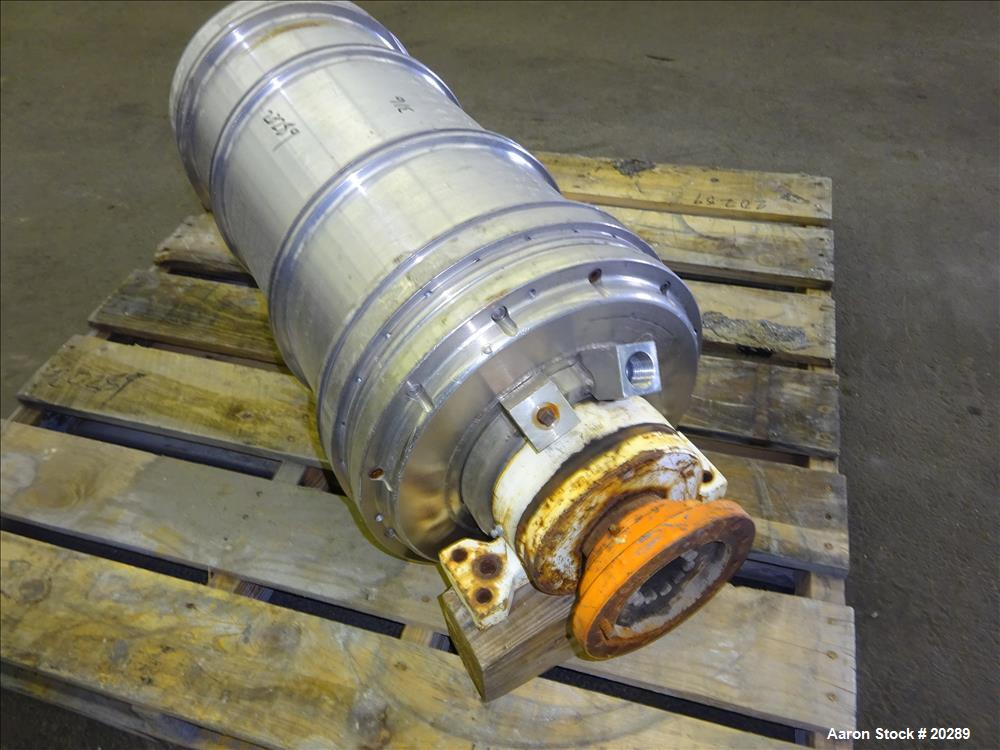 Used- Stainless Steel Sharples P-3000 Rotating Assembly