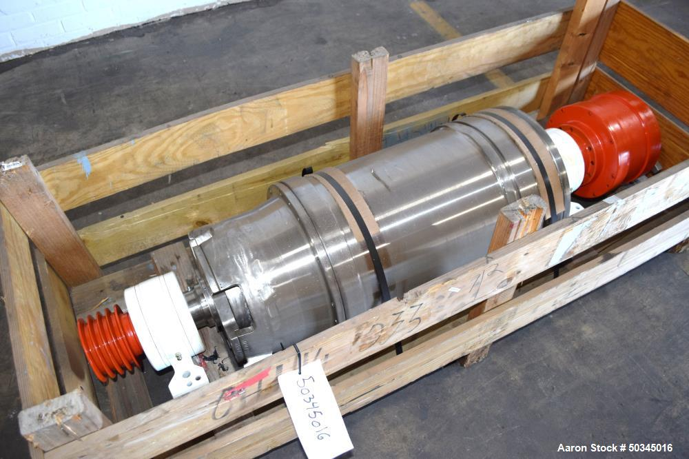 Used- Sharples P-3000 Super-D-Canter Centrifuge Rotating Assembly