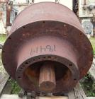 Used- Bird SA-51 Decanter Centrifuge Gearbox, Model SA-51. 80 to 1 ratio with male spline.