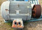 Used- Pacemaker Centrifuge Motor, Model 5111079002, Type CJ4B. 125 hp, 3/60/460 volt, 1785 rpm, frame 445T. 16