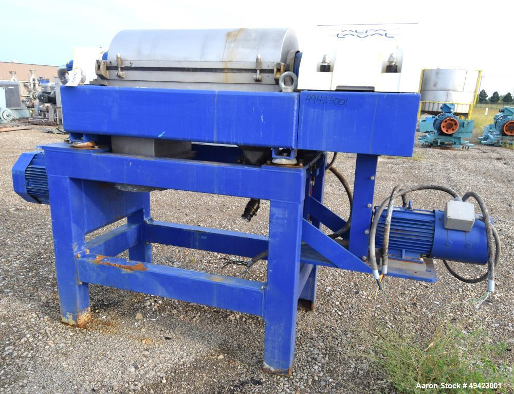 Used: Alfa Laval Aldec-402 Solid Bowl Decanter Centrifuge