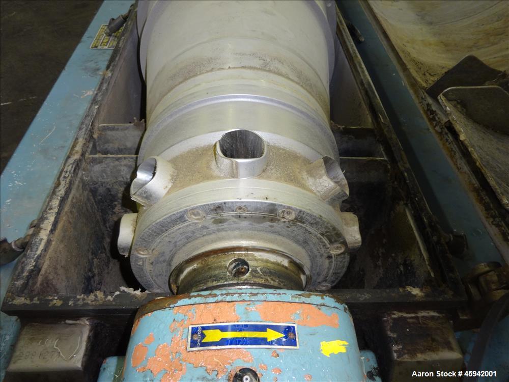 Used- Alfa Laval Solid Bowl Decanter Centrifuge, Model AVNX-418B-31G