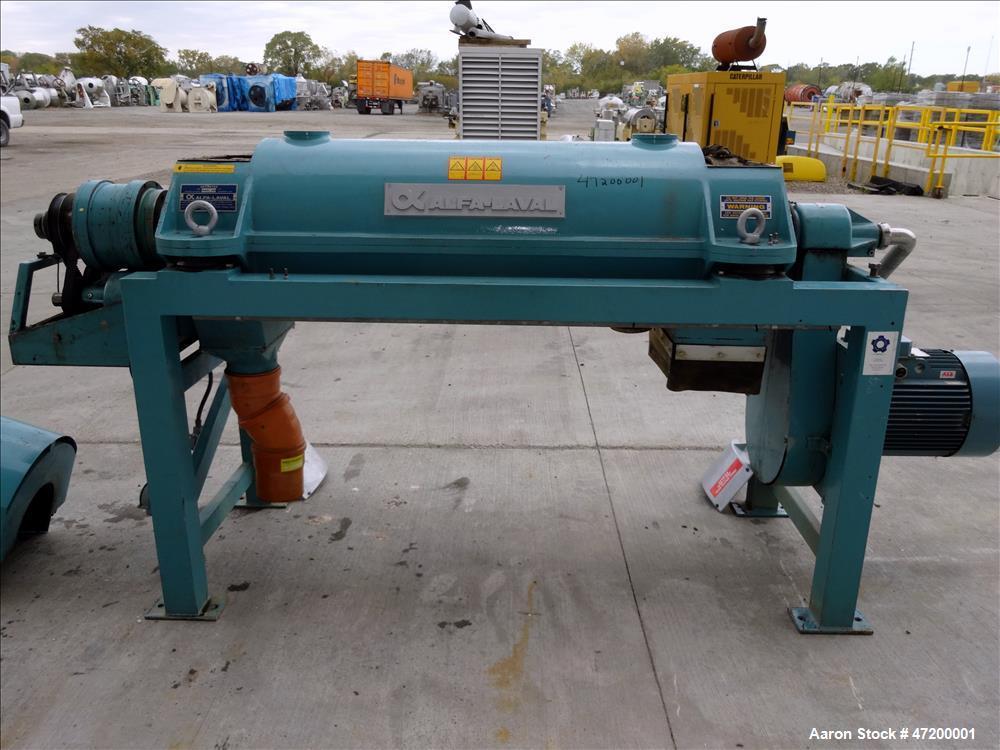 Used- Alfa Laval AVNX-720B-31G Solid Bowl Decanter Centrifuge.