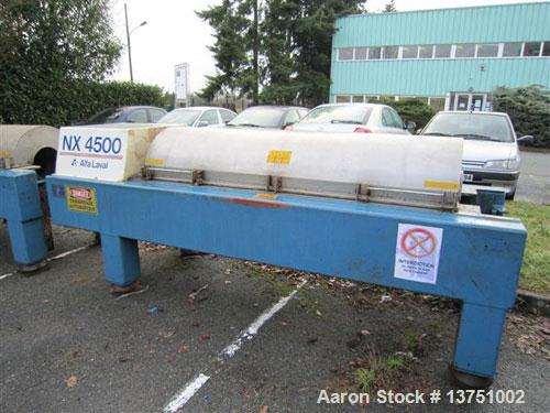 Used-Alfa Laval AVNX-935B-31G Solid Bowl Decanter Centrifuge. 316 Stainless steel construction (product contact areas), maxi...