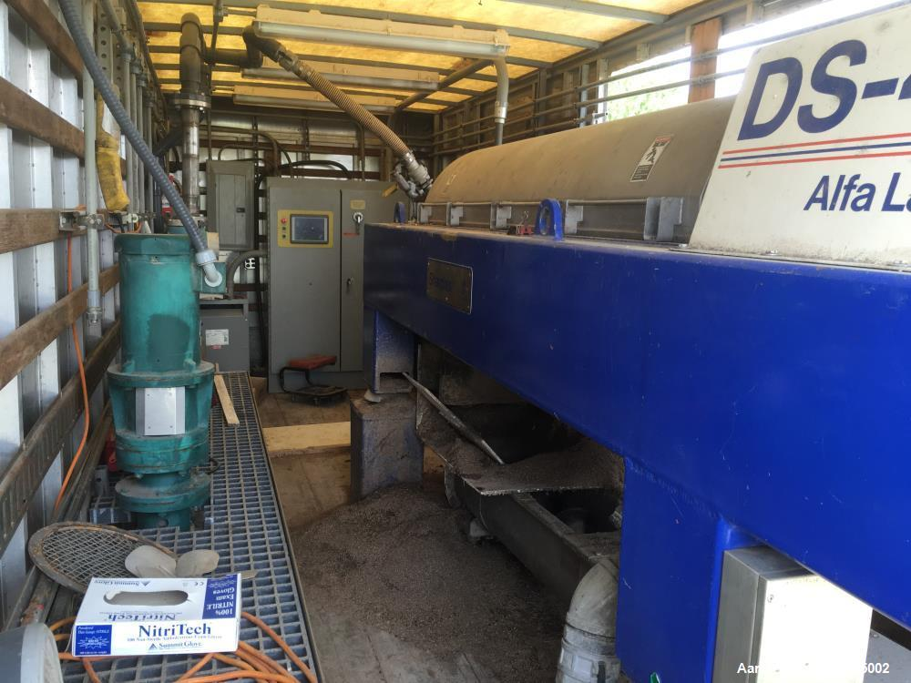 Used- Alfa Laval DS-401 Solid Bowl Decanter Centrifuge