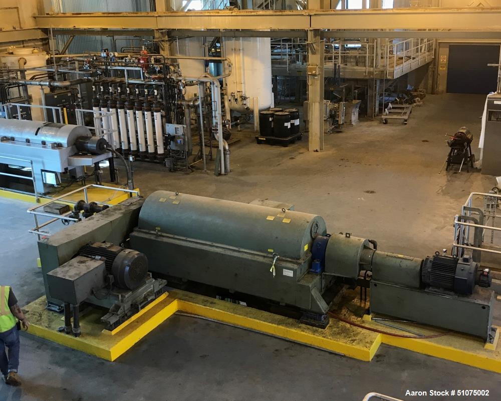 Used- Alfa Laval Dewatering Centrifuge, Model DS-706