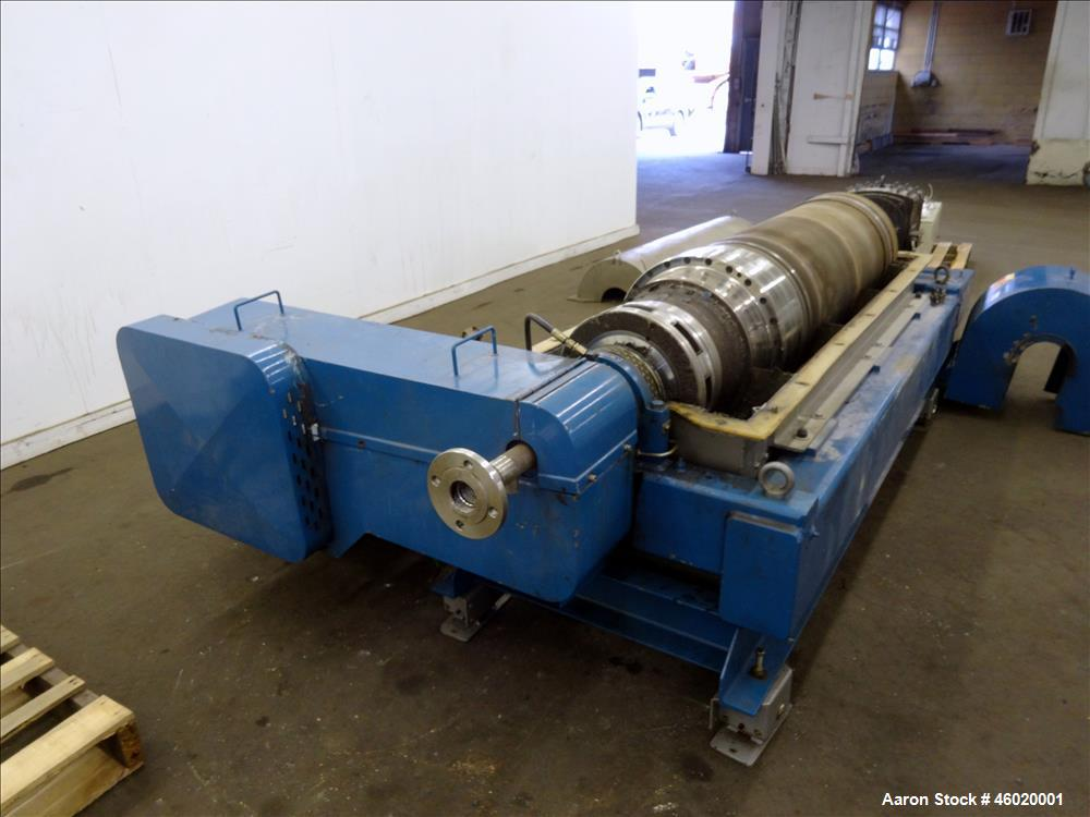 Used- Alfa Laval/Sharples DSNX-4250(PM-36000) Super-D-Canter Centrifuge
