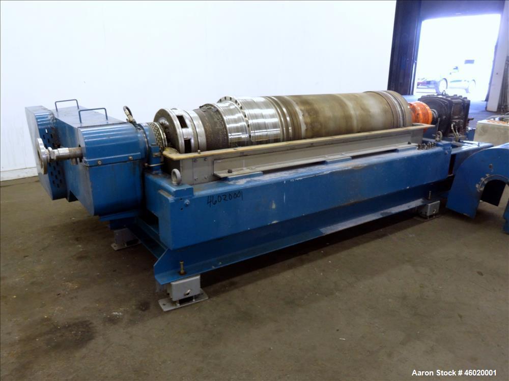 Used- Alfa Laval/Sharples DSNX-4250(PM-36000) Super-D-Canter Centrifuge